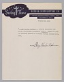 View Receipt for payment for a recording session signed by Ray Charles digital asset number 3