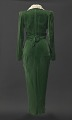 View Green velvet dress worn by Lena Horne in the film Stormy Weather digital asset number 2