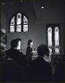 View <I>An invited speaker addresses the audience inside Ebenezer Baptist Church at the first birthday celebration of Dr. King in 1969</I> digital asset number 0