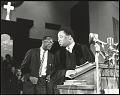 View <I>Rev. A.D. King, Dr. King's younger brother, at the pulpit inside Ebenezer Baptist</I> digital asset number 0