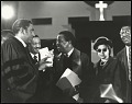 View <I>Rev. Dr. Joseph Echols Lowery, Congressman John Conyers, Rev. Dr. Ralph David Abernathy, Mrs. Rosa Parks and Mr. Robinson, chatting</I> digital asset number 0