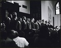 View <I>Choral musical performance at the first birthday celebration of Martin Luther King, Jr.</I> digital asset number 0