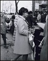 View <I>Yolanda King, oldest daugher of Martin Luther King, Jr. arriving at Ebenezer Baptist Church</I> digital asset number 0