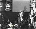 View <I>A somber Mrs. Coretta Scott King entering into Ebenezer Baptist Church</I> digital asset number 0