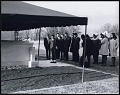 View <I>Students from Clark College gathered around Dr. King's tomb at Southview Cemetery</I> digital asset number 0
