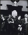 View <I>Rosa Parks seated with Congressman John Conyers, Dr. Ralph David Abernathy and Mr. Cleveland Robinson</I> digital asset number 0