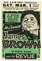 View Poster advertising a James Brown concert at Florida A&M University digital asset number 0
