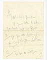 View Handwritten notes by James Baldwin digital asset number 1