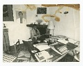 View Photograph of James Baldwin seated at his work table digital asset number 0