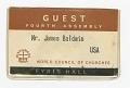 View Letter to Berdis Baldwin from James Baldwin digital asset number 9