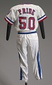 View Texas Rangers baseball uniform jersey worn by Charley Pride digital asset number 2