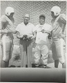 View Group portrait of MVC football players with J.H. White and Coach McPherson digital asset number 0