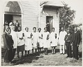 View Group portrait of church clergy and choir digital asset number 0