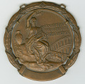 View 1960 Olympic Bronze Medal for Men's 400M Hurdles awarded to Dick Howard digital asset number 0