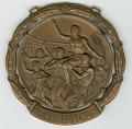 View 1960 Olympic Bronze Medal for Men's 400M Hurdles awarded to Dick Howard digital asset number 1
