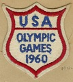 View USA Olympic patch for the 1960 Summer Games in Rome owned by Dick Howard digital asset number 0