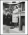 View <I>The church announcements are read by Elizabeth Davis at Charles Street AME Church, Roxbury, Massachusetts, 2005</I> digital asset number 0
