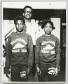 View Gelatin silver print of Carl Lewis with his sister and father digital asset number 0