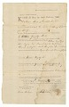 View Bill of sale for Hannah and her children, Clarinda and Stephen digital asset number 0