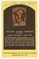 View Postcard of Judy Johnson Baseball Hall of Fame plaque digital asset number 0