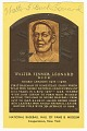 View Postcard of Buck Leonard Baseball Hall of Fame plaque digital asset number 0