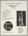 """View """"Pudgy"""" trumpet owned by Dizzy Gillespie digital asset number 1"""