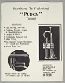 """View """"Pudgy"""" trumpet owned by Dizzy Gillespie digital asset number 4"""