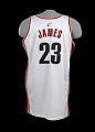 View Jersey for the Cleveland Cavaliers worn and signed by LeBron James digital asset number 3