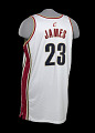 View Jersey for the Cleveland Cavaliers worn and signed by LeBron James digital asset number 4