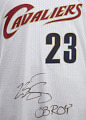 View Jersey for the Cleveland Cavaliers worn and signed by LeBron James digital asset number 6