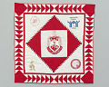 View Quilt with the Delta Sigma Theta logo digital asset number 0