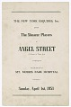 View Program for the Shearer Players' production of Angel Street digital asset number 1