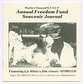 View <I>Martha's Vineyard NAACP Annual Freedom Fund Souvenir Journal</I> digital asset number 0