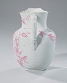 View White and pink pitcher and washbowl owned by members of the Ellis family digital asset number 16