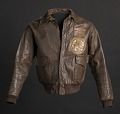 View Tuskegee Airman flight jacket worn by Lt. Col. Woodrow W. Crockett digital asset number 0