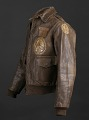 View Tuskegee Airman flight jacket worn by Lt. Col. Woodrow W. Crockett digital asset number 1