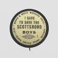 View Pinback button for the Scottsboro United Front Defense digital asset number 1