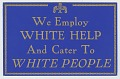 View Sign from a segregated restaurant digital asset number 0