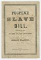 View <I>The Fugitive Slave Bill</I> digital asset number 0