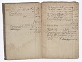 View Wage book for the slave trading ship Fox captained by Robert Mitchell digital asset number 2