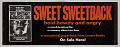 View Advertisement for paperback novel Sweet Sweetback's Baadasssss Song digital asset number 0