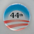 View Pinback button from the 2008 Obama campaign digital asset number 0