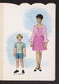 View Book of paper dolls from the television show Julia digital asset number 2