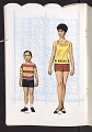 View Book of paper dolls from the television show Julia digital asset number 9