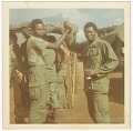 View Photograph of two American soldiers in Vietnam digital asset number 0