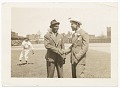 View Photographic print of Joe Louis shaking hands with unidentified man digital asset number 0