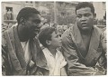 View Photographic print of Joe Louis with an unidentified man and boy digital asset number 0