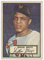 View Baseball card for Willie Mays digital asset number 0