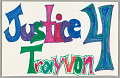 """View Sign reading """"Justice 4 Trayvon"""" digital asset number 0"""