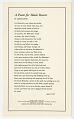 View <I>A Poem for Black Hearts</I> digital asset number 0